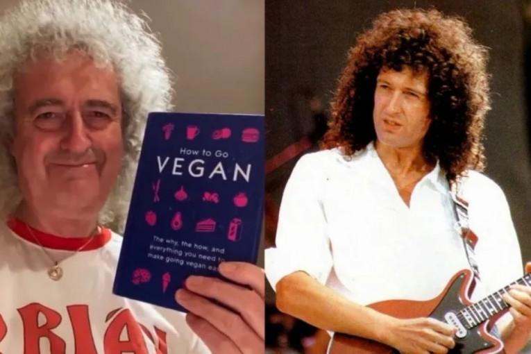 Brian May, legenda kapely Queen, zkouší veganství