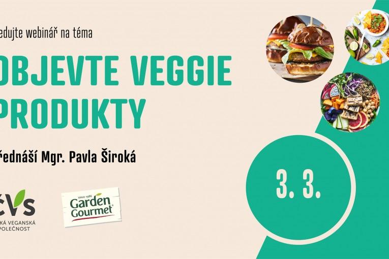 Objevte veggie produkty (Webinář, celá ČR)