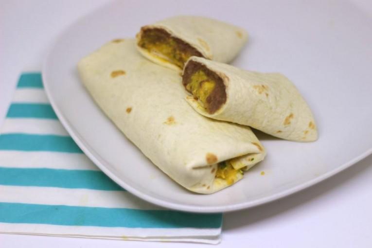 Burritos s guacamole