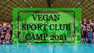 Vegan sport club camp 2021