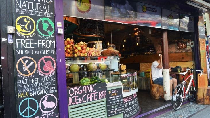 Kam zajít v Anglii na veganské jídlo?