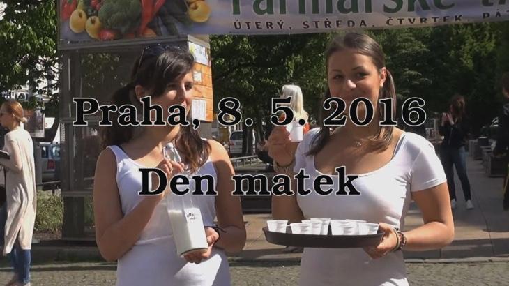Pražanům byl nabídnut nový produkt - mateřské mléko (video)