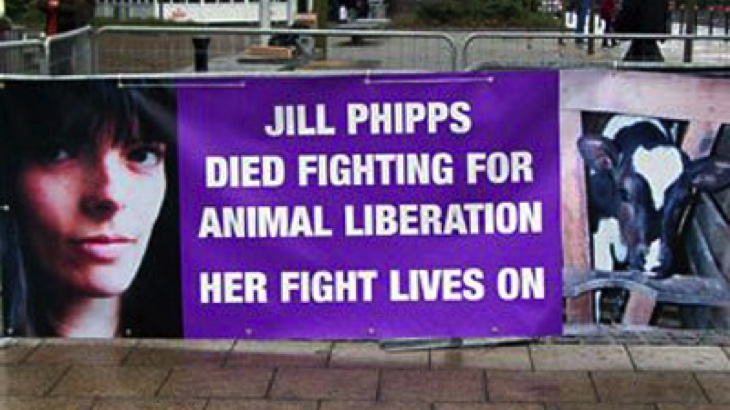 Vzpomínka na aktivistku Jill Phipps