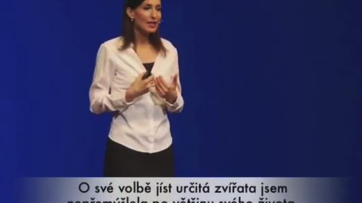 Melanie Joy o karnismu a dalších volbách stravování (video)