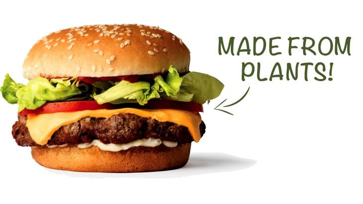 Americká firma bude vyrábět 4 miliony veganských burgerů měsíčně