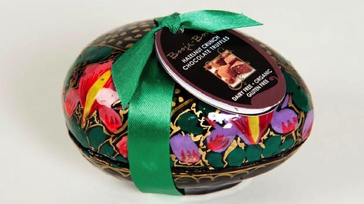 Veganské čokoládové lanýže jsou nejchutnější velikonoční pamlsek ve Velké Británii