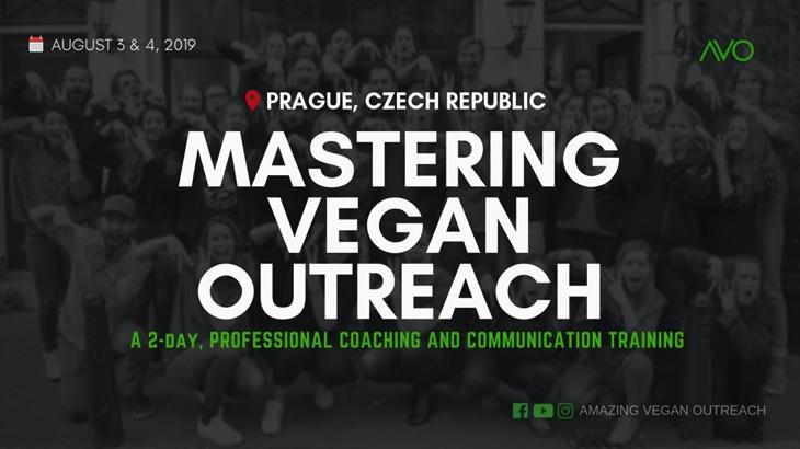 Mastering Vegan Outreach (Praha)