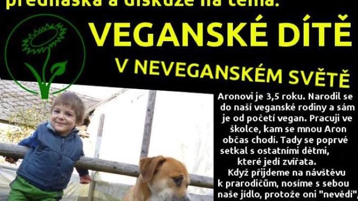 Přednáška: veganské dítě v neveganském světě (Most)