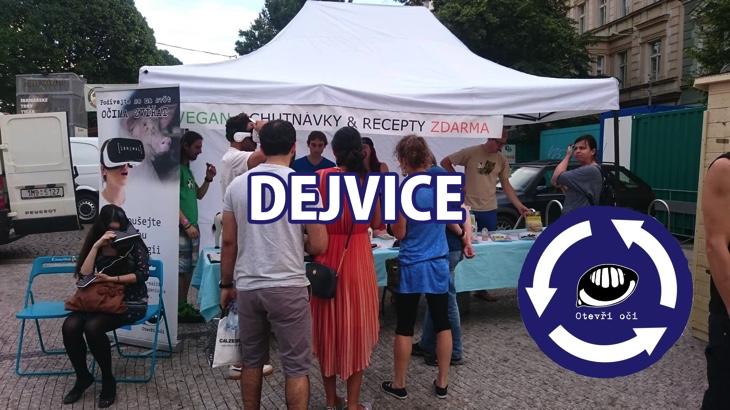 Veganské ochutnávky s virtuální realitou v Dejvicích (Praha)
