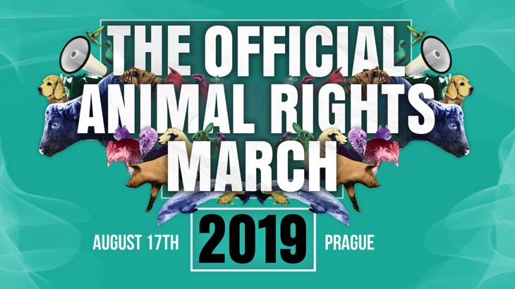 THE OFFICIAL ANIMAL RIGHTS MARCH (Praha)