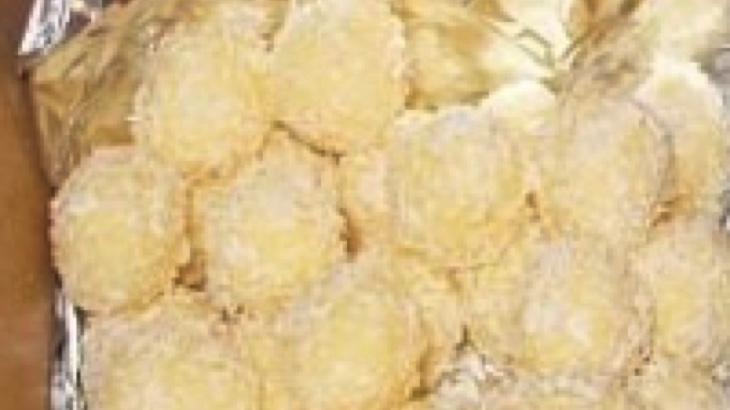 Kokosové kuličky (vegan raffaello)