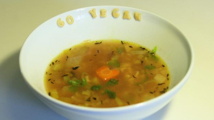 Písmenková polévka