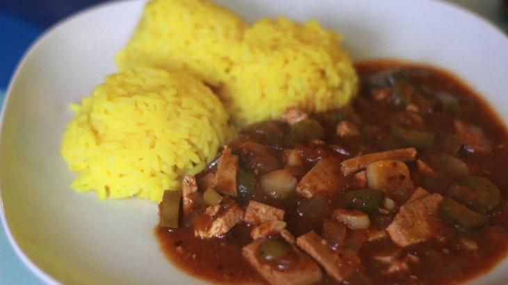 Španělský tofu ptáček (bez ptáčku)