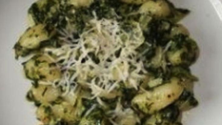 Špenátové gnocchi