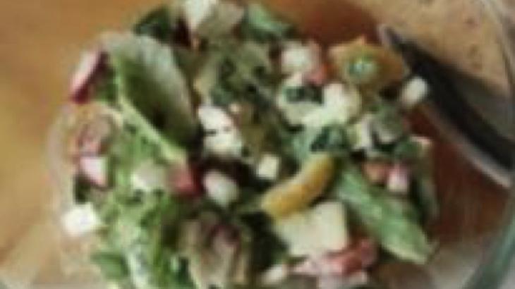 Svěží zeleninový salát s tofu